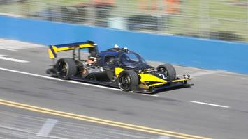 Driverless Race Car Crashes At Speed