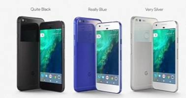 "google launches the u.s. exclusive ""really blue"" pixel/pixel xl phones in the uk"