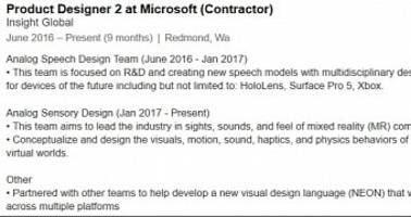 Microsoft's Windows 10 UI Refresh Codenamed Project NEON Confirmed on LinkedIn
