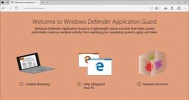Windows Defender Application Guard Spotted in Latest Windows 10 Builds
