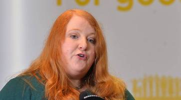 naomi long presents 'vision for all' at alliance party manifesto launch