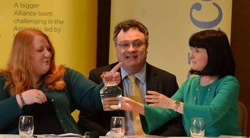 Naomi Long responds to Belfast Telegraph Alliance 'hijack' plot story - it was 'just tongue in cheek'