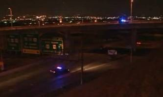Getaway Goes Wrong In Kansas, a Corpse on the Highway Doesn't Stop It