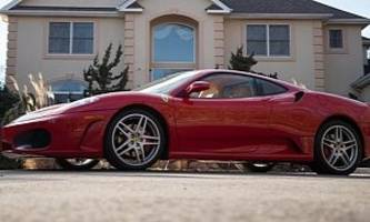 President Trump's Ferrari F430 Is Estimated To Fetch $350,00 At Auction