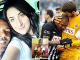 Footballer brought to tears by 'monkey' taunts speaks out