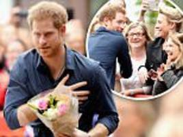 prince harry makes a charity visit to gateshead