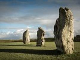 tourists use 5,000-year-old stones as toilet