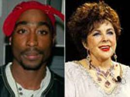 wacky celebrity last wishes tupac liz taylor jimmy dean