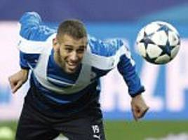leicester striker islam slimani not fit for sevilla clash