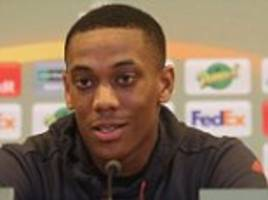 Martial plays down Manchester United exit talk