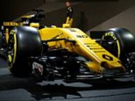Renault unveil new RS17 F1 car for 2017 season