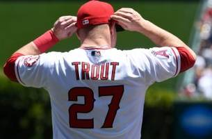 behind-the-scenes with mike trout at angels' photo day in tempe