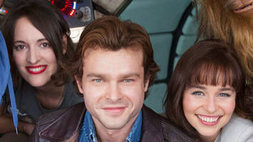 Star Wars: First picture of Han Solo film team released
