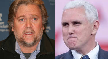 Bannon Breaks With Pence, Delivers Warning To Europe