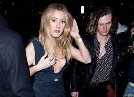 Back Together? Ellie Goulding Attends London Fashion Week Parties With Ex Dougie Poynter
