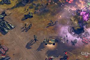 Halo Wars 2 is a real-time strategy game caught between console and PC