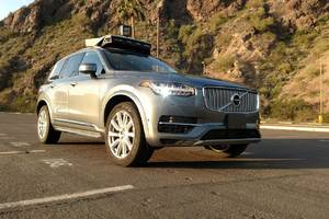 Uber's self-driving cars are now picking up passengers in Arizona