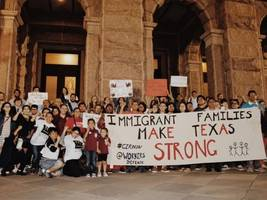 amid passion-filled immigration debate, migrants cast as villains in texas political narrative