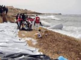 Bodies of 74 migrants found on west Libyan shore