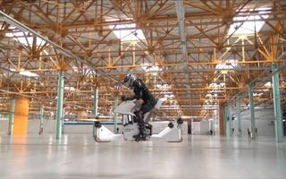 watch: the world's first actual real hoverbike