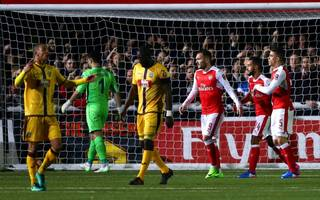 Wenger relieved as Arsenal end Sutton United's fairytale