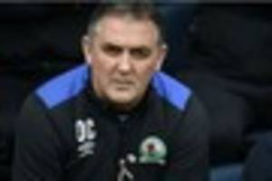 championship: blackburn rovers part company with owen coyle