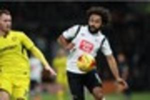 match report: derby county's play-off hopes continue to fade