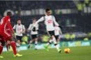 tom ince marks 250th career appearance as derby county play...