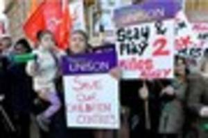 unions plan leicester town hall 'no cuts' protest as councillors...