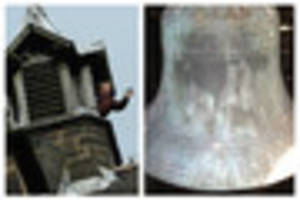 Church bell which has been silent for a decade can finally ring...
