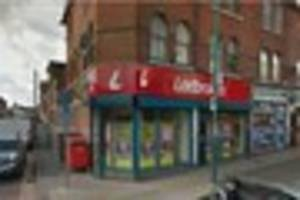 Masked man with 'large knife' robs Nottingham bookmaker's