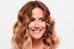 strictly winner caroline flack to make stage debut in crazy for...