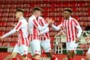 tyrese campbell brace helps stoke under-23s to win at aston villa