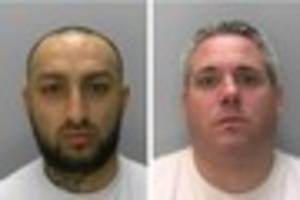 these two men are wanted by gloucestershire police - but don't...