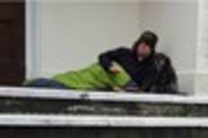 paignton vicar will sleep rough for six weeks to raise awareness...