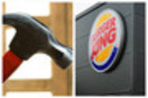 Man hit with hammer then pushed through Burger King window in...