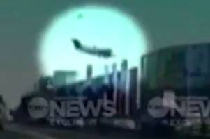 Horrifying footage shows moment plane plunges into Melbourne shopping centre