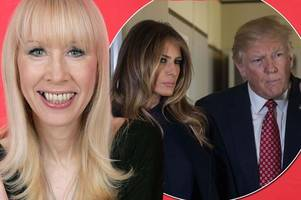 is melania and donald trump's marriage crumbling before our eyes? body language expert judi james analyses first lady's 'shudder'