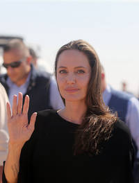 Angelina Jolie makes first public appearance post-split drama; Talks about upcoming movie, 'First They Killed My Father'