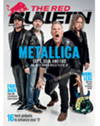 metallica spills 'guts, soul, and fire' and the secrets to longevity for the february/march issue of the red bulletin magazine