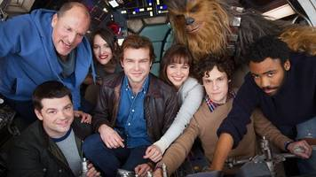 Star Wars: Han Solo spinoff's first cast photo is pretty cozy