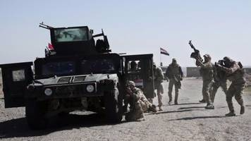 Mosul offensive now focused on city's airport