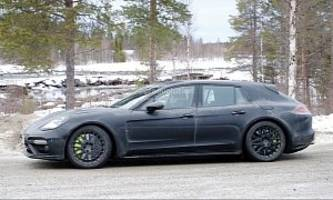 2018 Porsche Panamera Sport Turismo Prototype Testing Before Imminent Unveiling