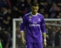 Valencia 2-1 Real Madrid: Ronaldo goal not enough for Zidane's men