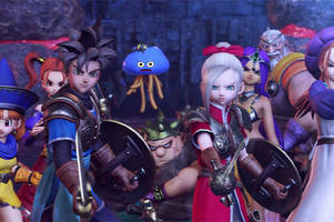 'dragon quest heroes' on switch is bigger than the console's internal storage