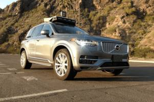 Uber's self-driving cars have started picking up riders in Arizona