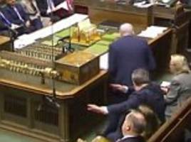 did tom watson do a dab dance move in the commons?