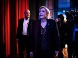 marine le pen's bodyguard and chief of staff are arrested