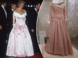 Princess Diana's most breathtaking gowns go on display