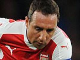 Arsenal star Santi Cazorla out for rest of the season